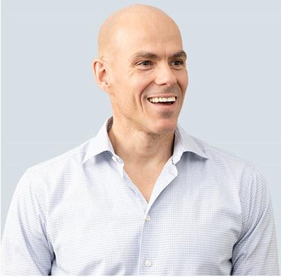 Carl Hansen, CEO of AbCellera Biologics