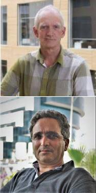 Dr. Lawrence McIntosh and Dr. Josef Av-Gay